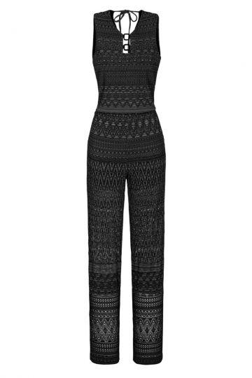 Ana Alcazar Jumpsuit Black Foanea
