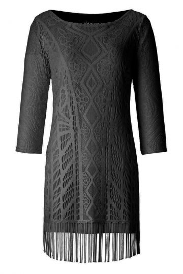 ana alcazar Tunic Dress Alvineblack