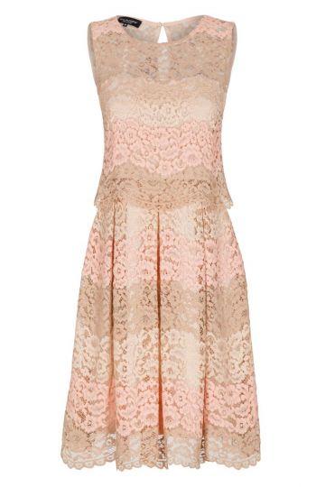 Ana Alcazar Prinzess Kleid Rose Flaconis