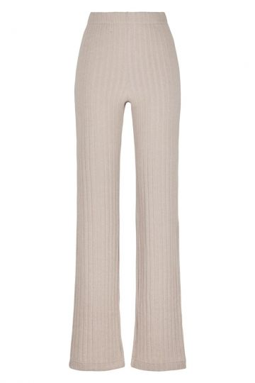 Ana Alcazar Knitted Trousers Domeny