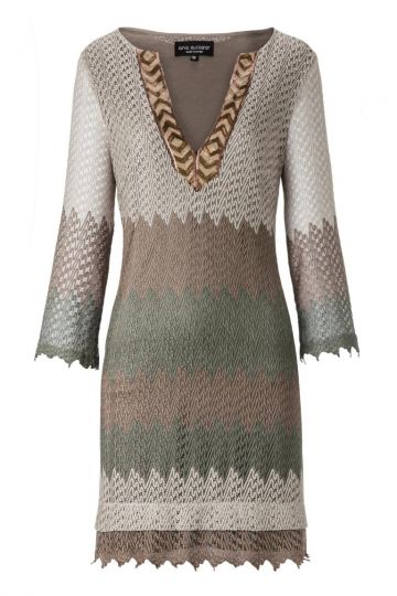ana alcazar Tunic Dress Althrony