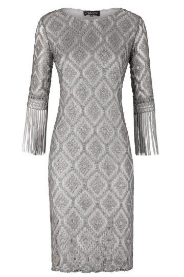 Ana Alcazar Fringes Dress Evelysa
