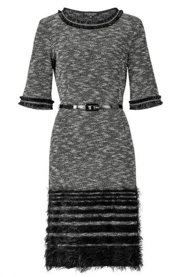 ana alcazar Tweed Dress Zevonia