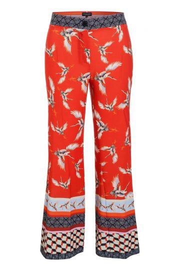 Ana Alcazar Trousers Meylira Red