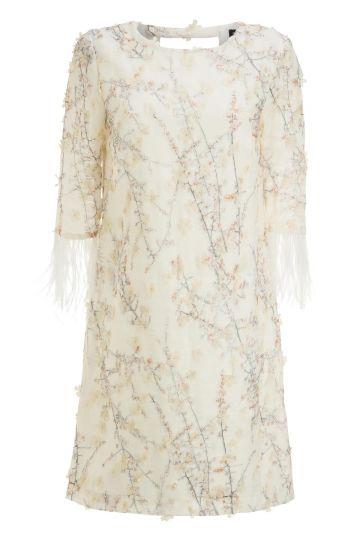 Ana Alcazar Tunic Dress Feather Maaiky