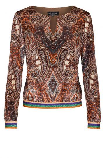 Ana Alcazar Velvet Shirt Kiry