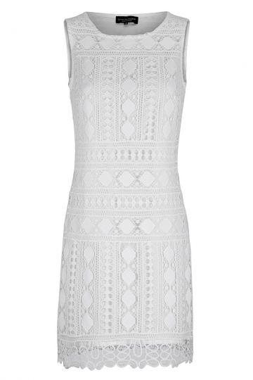 Ana Alcazar A-Linienkleid White Flawola