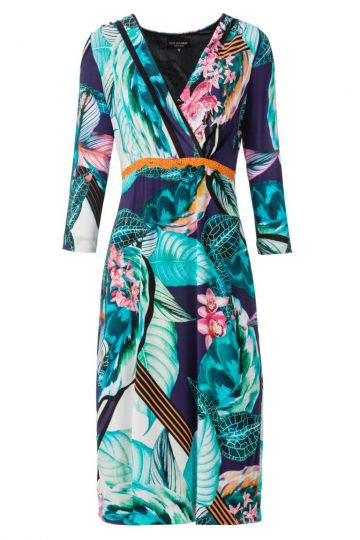 ana alcazar Print Dress Anzonis