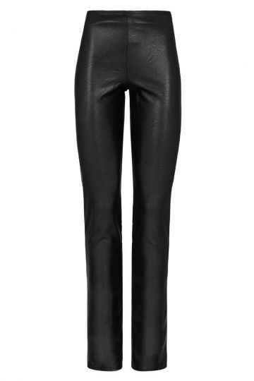Ana Alcazar Leather Optic Trousers Dostalis
