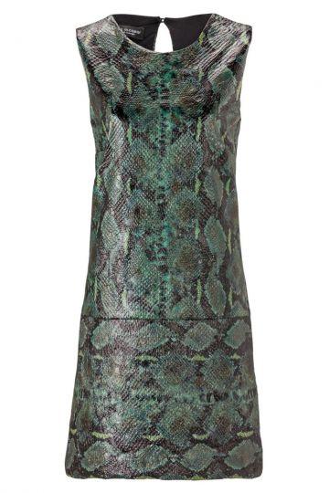 A-Linien Kleid Alphorea im Reptil-Print