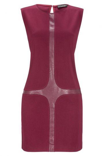 Bordeaux A-Linien Kleid Doralea | Ana Alcazar