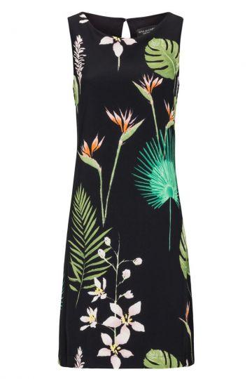Dschungelprint A-Linien Kleid Fideley