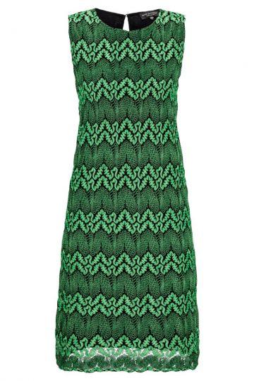 Smaragdgrünes A-Linien Kleid Aydeagreen
