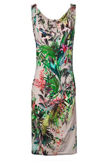 Printkleid Vincy mit Dschungel-Print