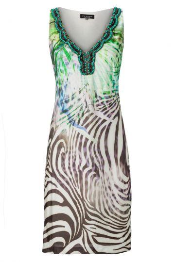 Sommerkleid Aloveas mit Dschungelprint