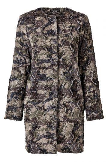 Mantel Sanramy aus Kunstfell