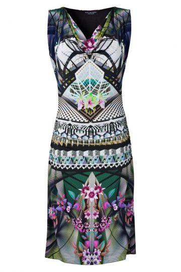 Sommerkleid Voscery mit Fantasie-Print