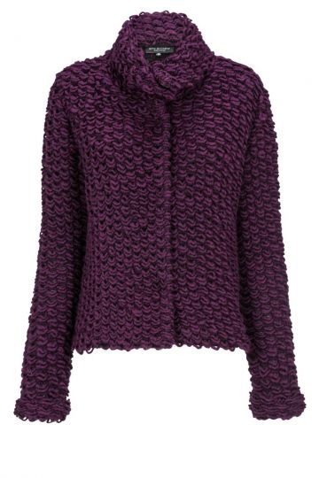 Strickjacke Dynasti in Bordeux | Ana Alcazar