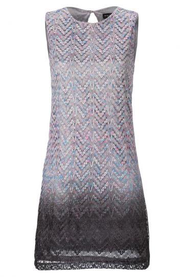 A-Linien Kleid Ademorela in Grau-Blau