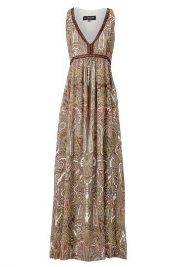 Langes Kleid Anarosy im Paisleyprint