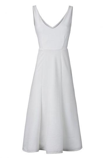Sixtieskleid Nemosis in Weiß