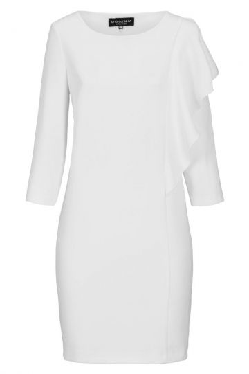 Weißes Volant-Kleid Diney | Ana Alcazar