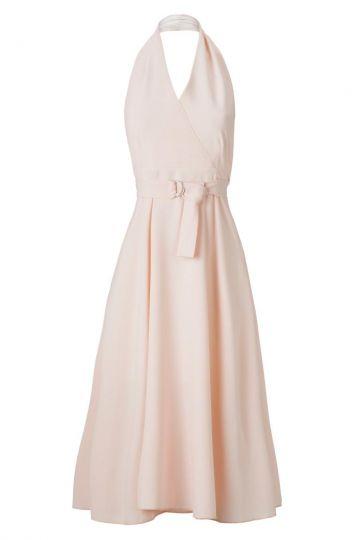 Neckholder Kleid Ansophy Rose im Fifties Look
