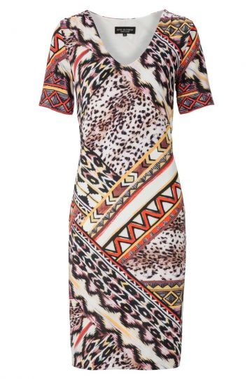 Sommerkleid Aframy mit Ethno-Print