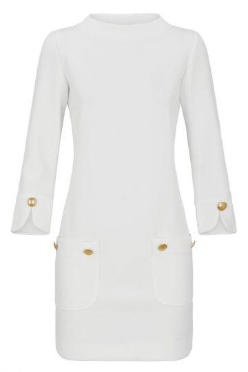 Tunikakleid Darlowy in Weiß | Ana Alcazar