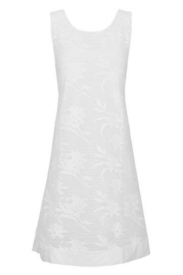 A-Linien Kleid Brendolys in Weißer Spitze