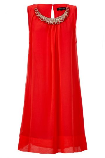Black Label Rotes A-Linien Kleid No. 42