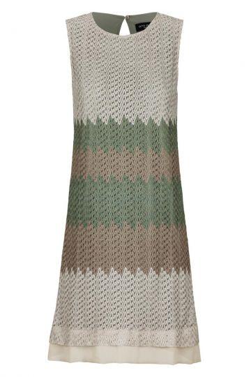 Edles A-Linien Kleid Altrophony in Ajour-Strick