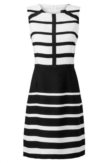 Sixties Kleid Zoanim im Streifenprint