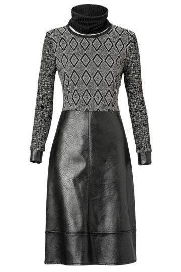A-Linien Kleid Zanagoa mit Grafischem Print