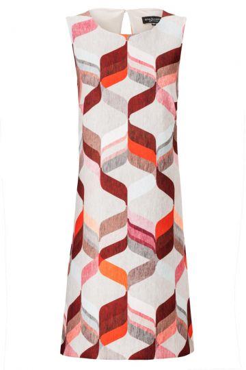 A-Linien Kleid Zimothes Red im Seventiesprint