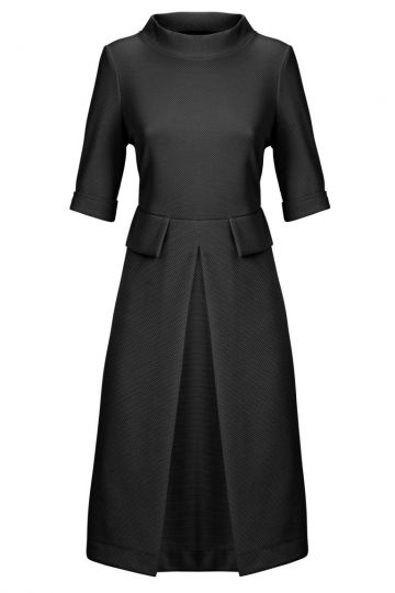 Sixties Kleid Zindrella Dark in Schwarz