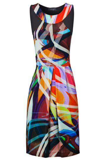 Sixties Kleid Velly mit Grafik-Print