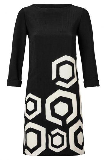 Sixties Kleid Zoanera mit Grafik-Print