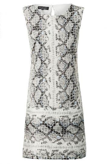 A-Linien Kleid Zeosea Light im Reptil-Print