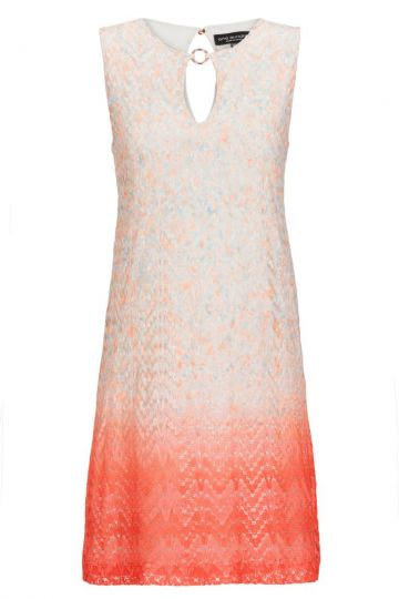 A-Linien Kleid Broney in Orange-Apricot