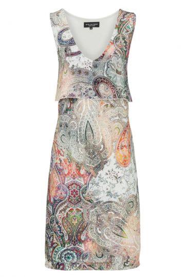 Sommerkleid Biancy im Paisley Print