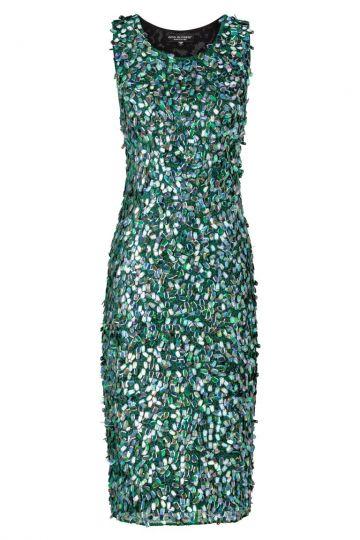 Black Label Luxus Kleid No. 75 in Grün