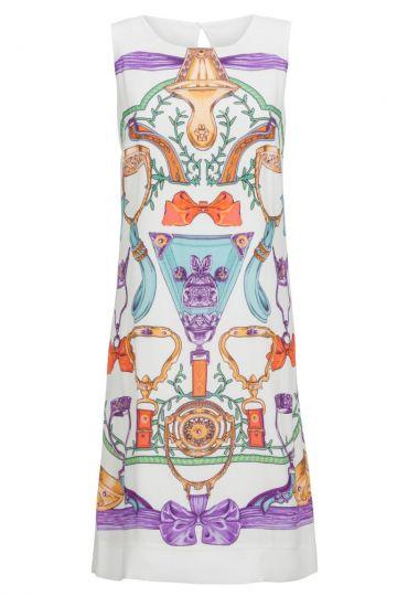 Bedrucktes Sommerkleid Bealory in A-Linie