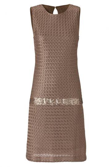 A-Linien Kleid Waldorea in Braun
