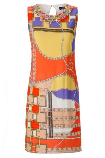 Sommerkleid Aranjes mit Seventies Print