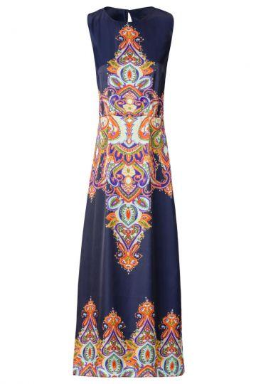 Midi Kleid Weilforis mit Paisley-Print
