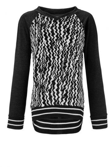 Pullover Albrea mit Kunstpelz