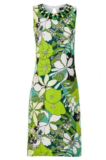 Seventies Kleid Albella mit Blumenprint
