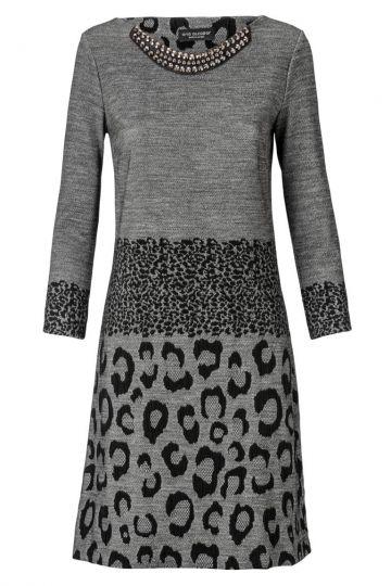 A-Linien Kleid Zelophy im Leoprint