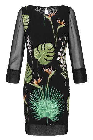 Tunikakleid Fidelia mit Dschungelprint | Ana Alcazar